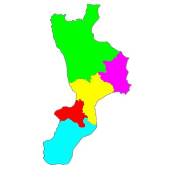 The province in Calabria
